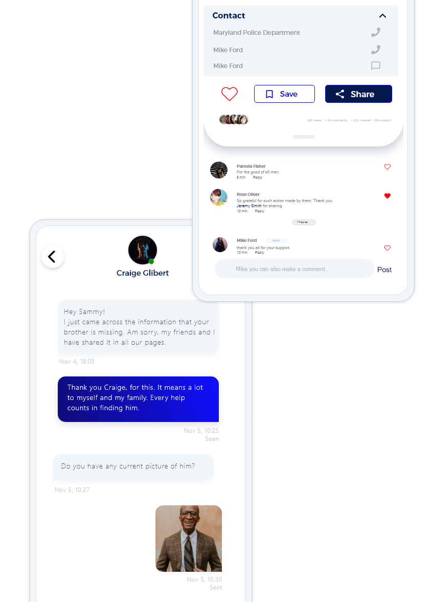 Comments, Chat and Connect
