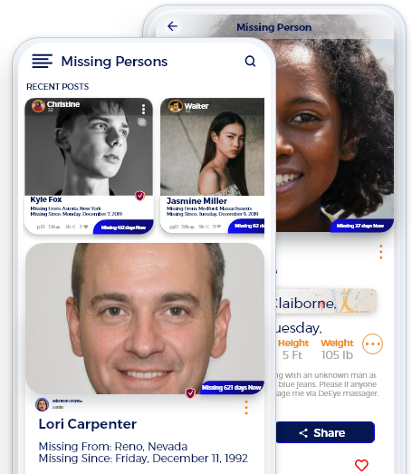 Posting Missing Persons